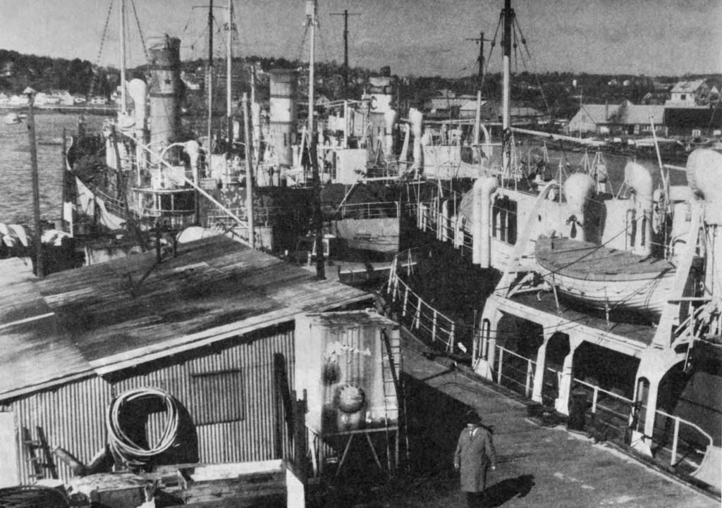 Bilde av Kamfjordvervens historie