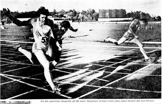 Bilde av Åpningsstevnet i idrettsparken