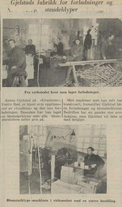 Bilde av Anton Gjelstads Forladningsfabrikk / Framnesveien 37b
