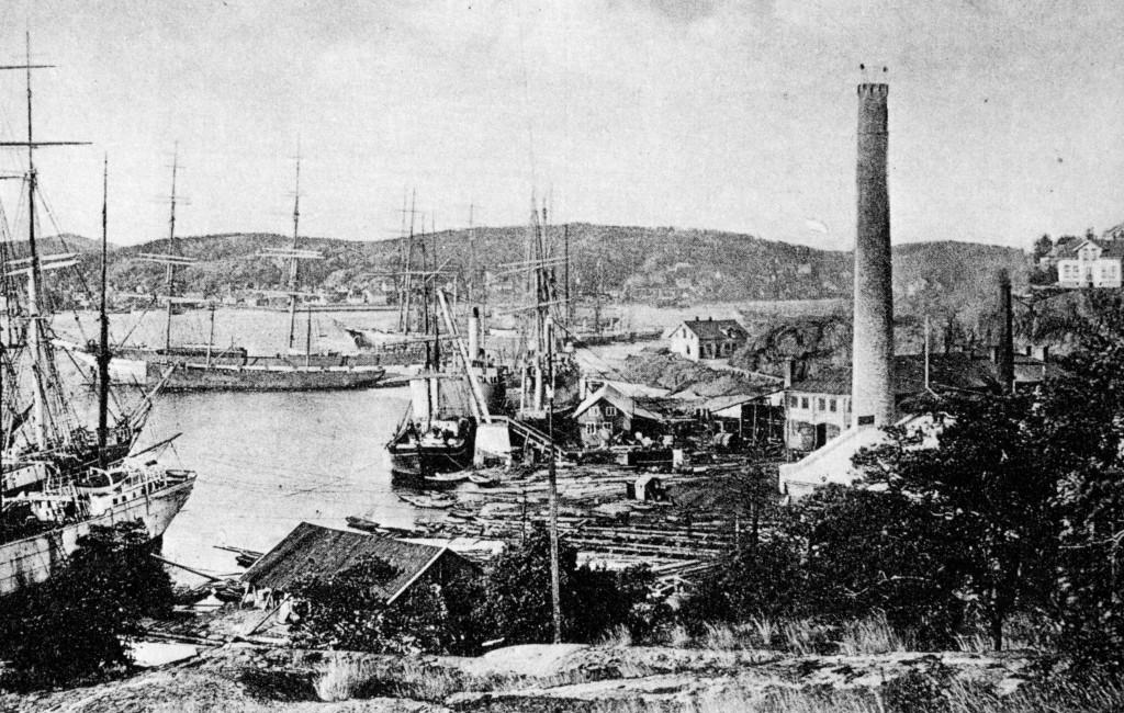 Bilde av Framnæs Mek verkstad  1908