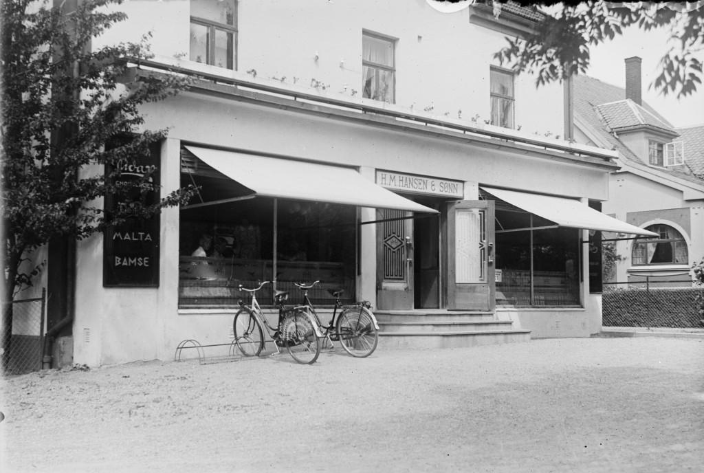 Bilde av H. M. Hansens bakeri