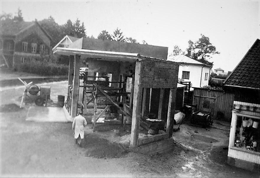 Bilde av Liverød bensin