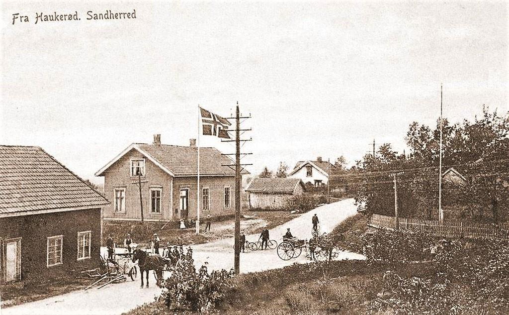 Bilde av Haukerød-krysset