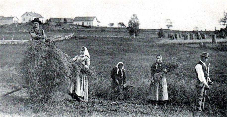Bilde av Hunstok gård (Raveien 300)