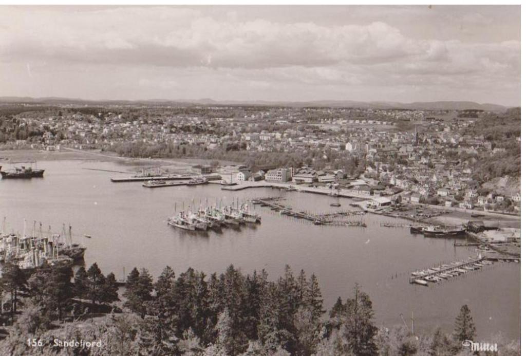 Bilde av Bildet tatt fra Kamfjordåsen
