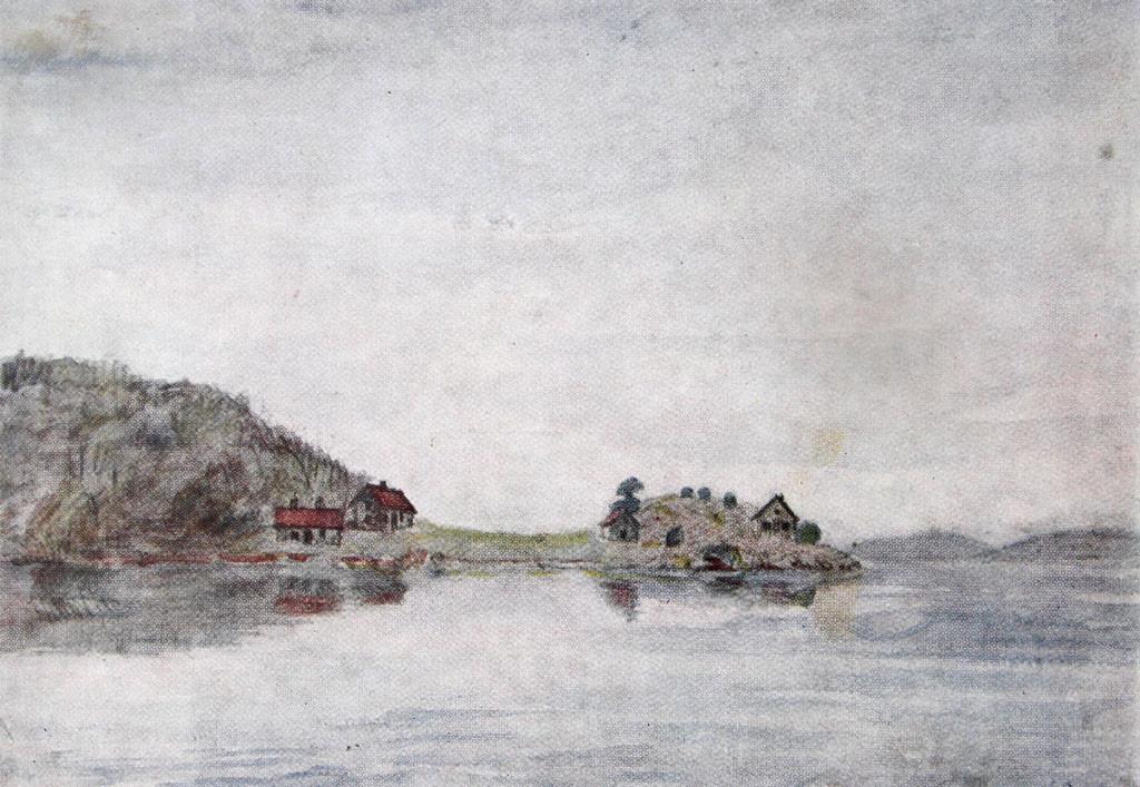 Bilde av Rødsverven i 1860-årene