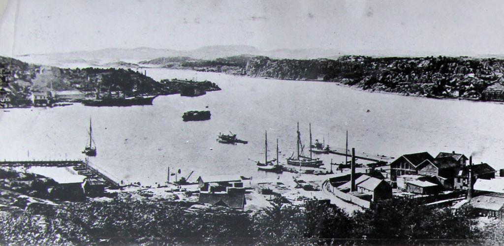 Bilde av Indre havnområdet