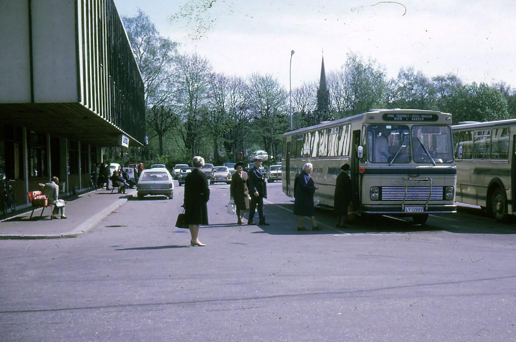 Bilde av Bussholdeplassen