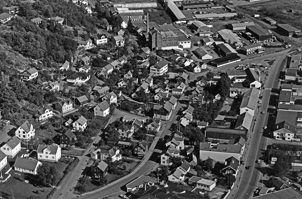 Bilde av Kamfjordgata  -  Flyfoto