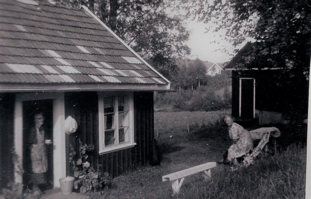 Bilde av Goksjøområdet - Gamlestua 1950.