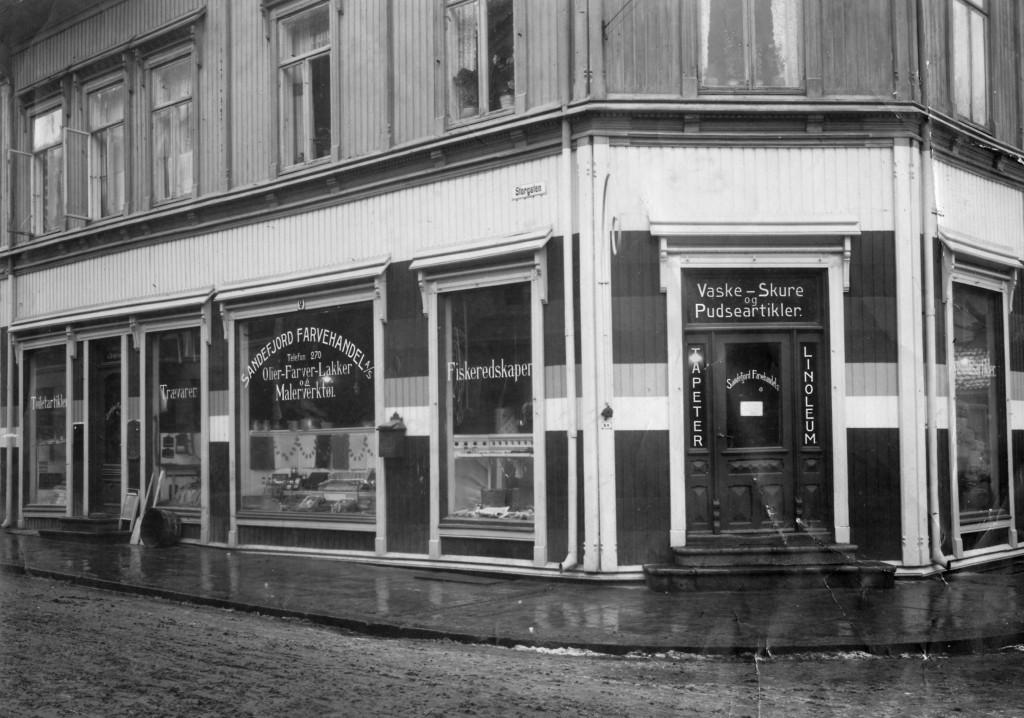 Bilde av Sandefjord Farvehandel/Storgata 9