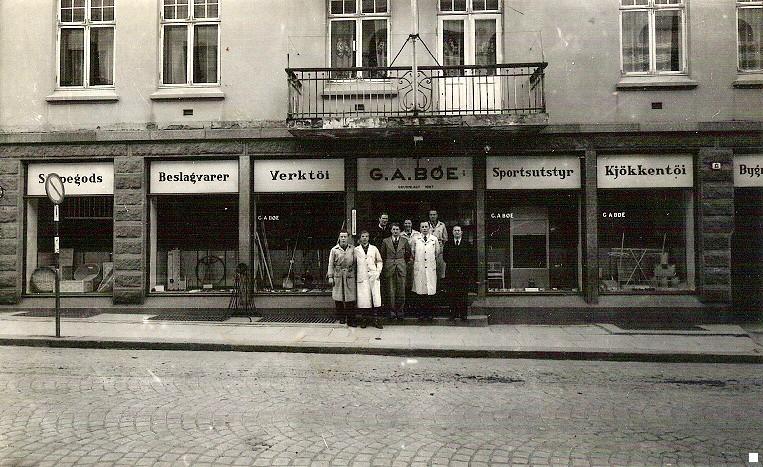 Bilde av G.A. Bøe/Storgata 13