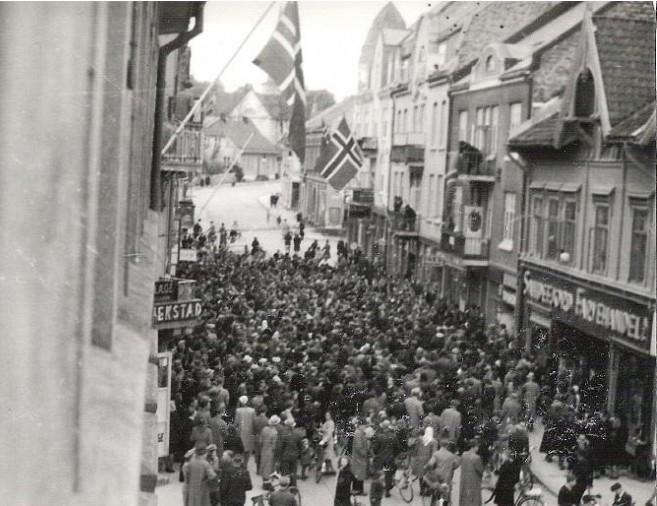 Bilde av Frigjøringen/Storgata 9