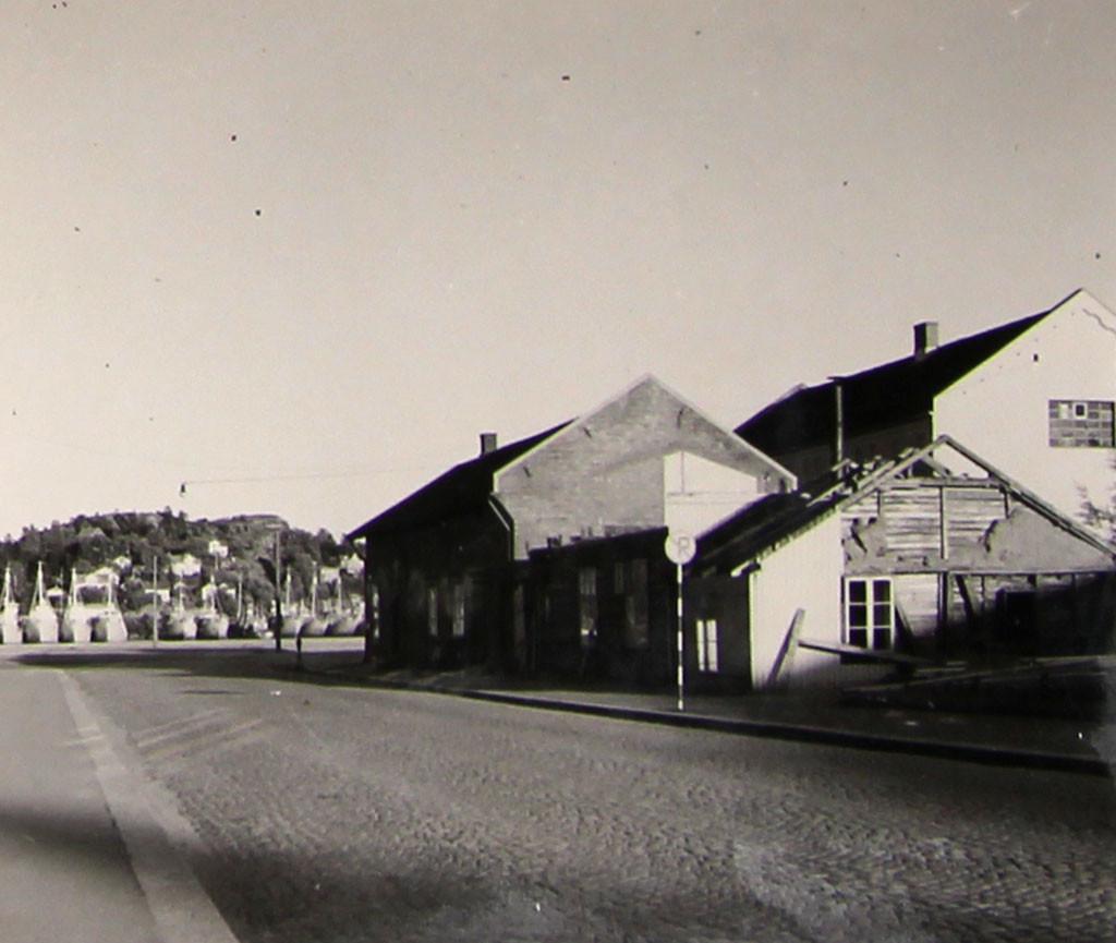 Bilde av Tollboden under riving/Thor Dahls gate 4