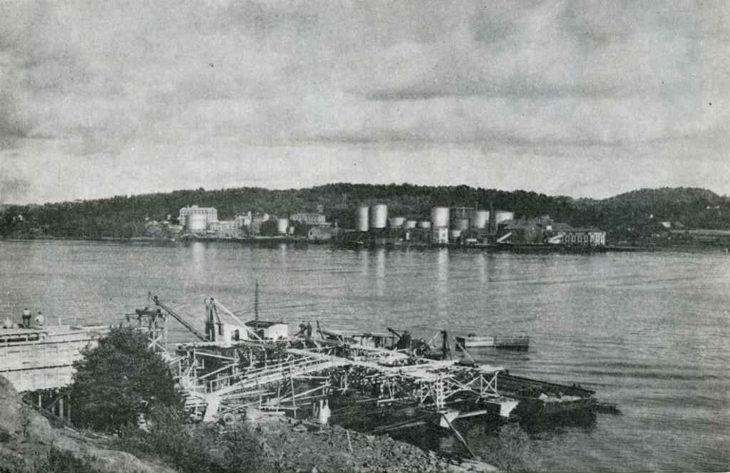Bilde av Bygging av kaianlegg