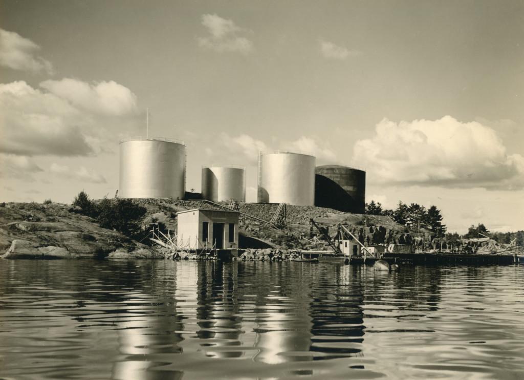 Bilde av Thorøya med oljetanker