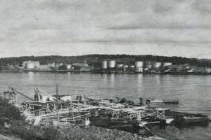 Bilde av Før Thorøya ble landfast