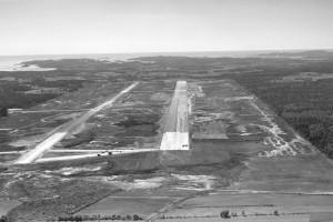 Bilde av Bygging av flyplassen