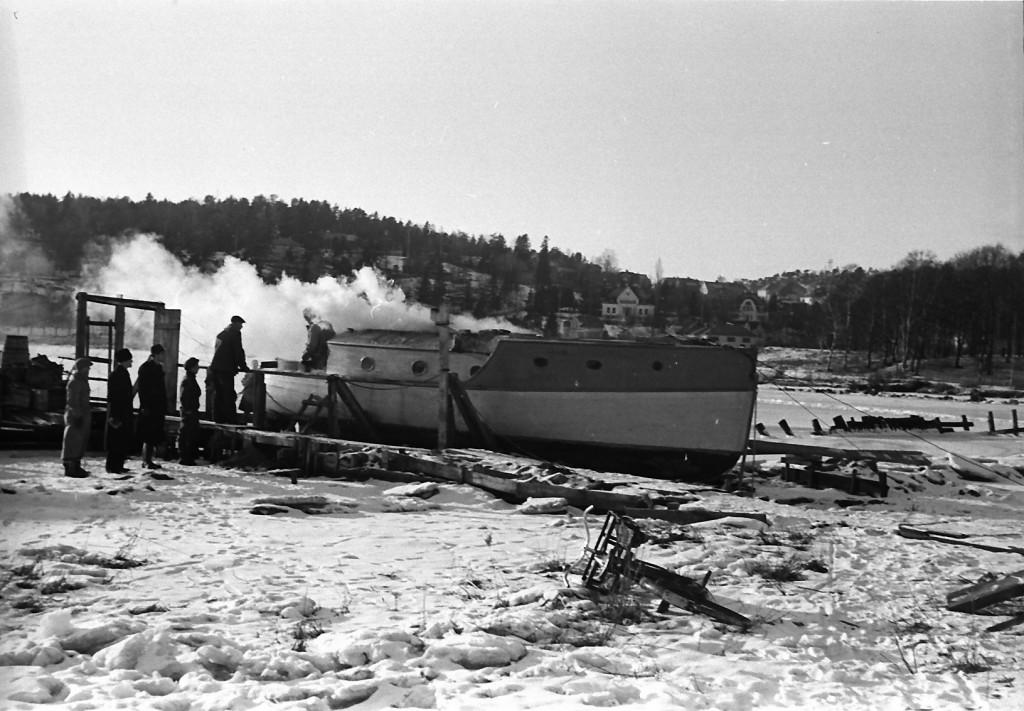 Bilde av 1947 hyttebåt
