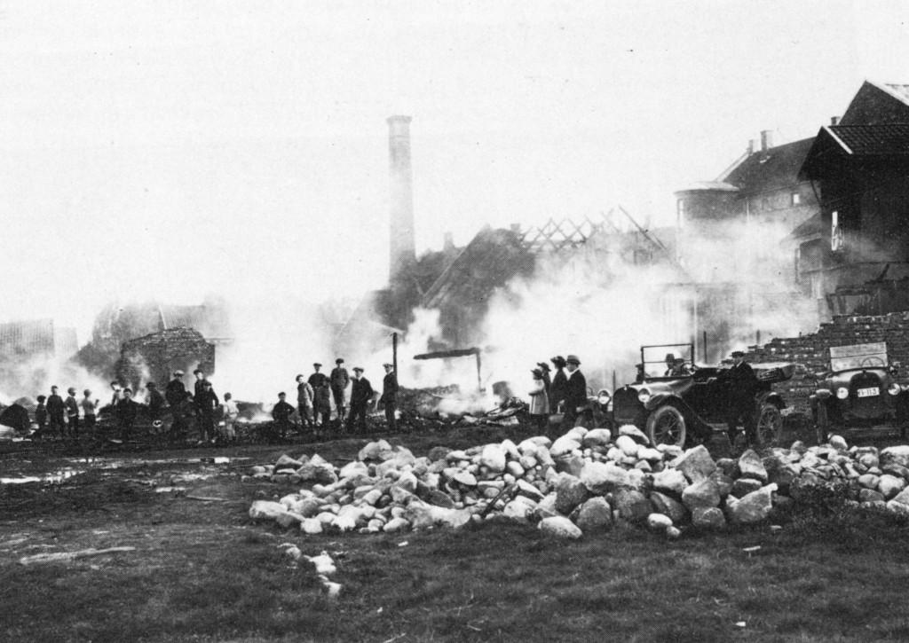Bilde av Bybrann 1915  ??