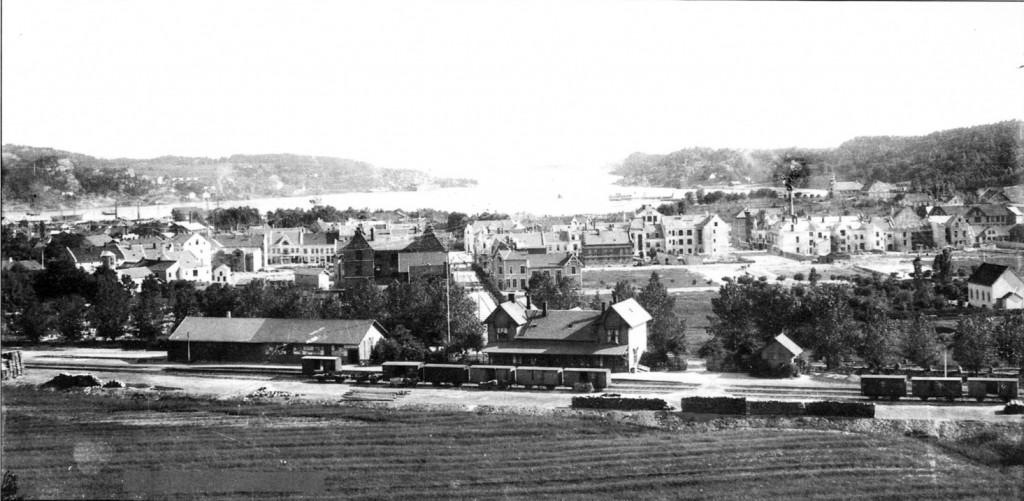 Bilde av 1901 - året etter bybrannen