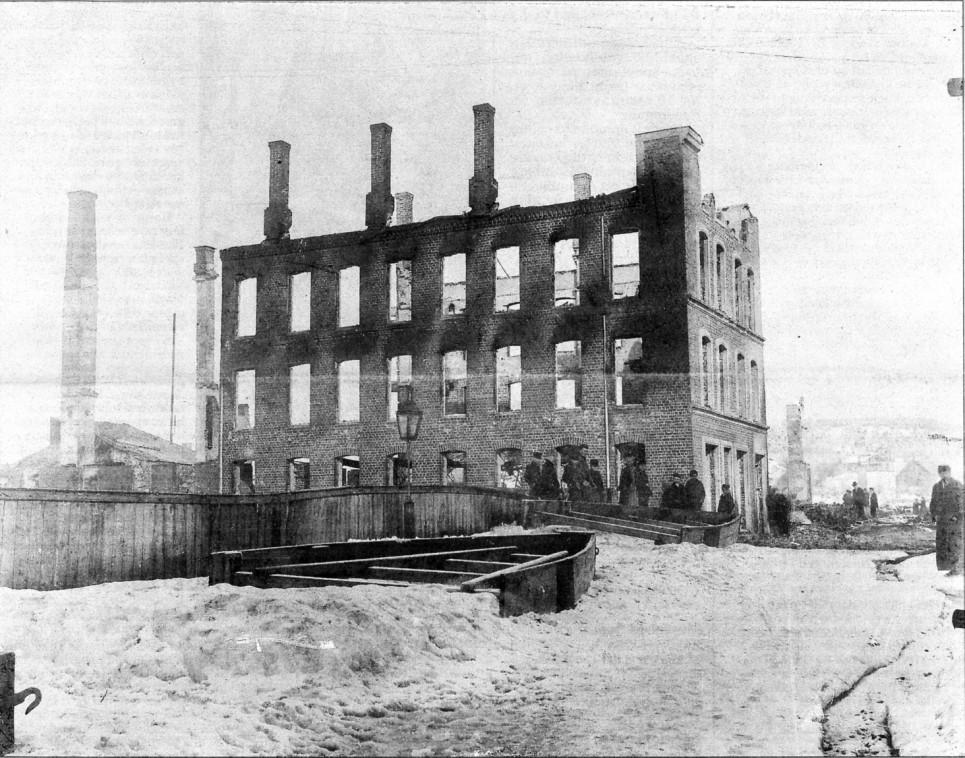 Bilde av Bybrann 1900