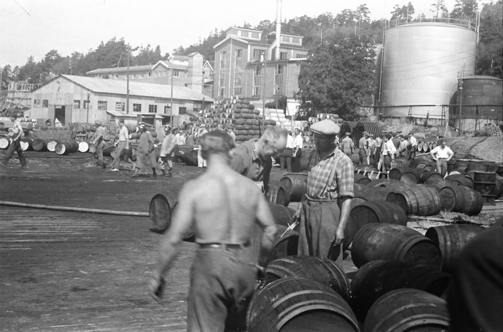 Bilde av 1947  Sandar Fabrikker