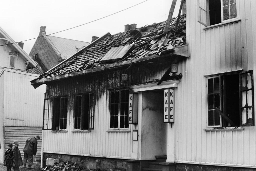 Bilde av 1961 Kafe Håndverkeren i Rådhusgata