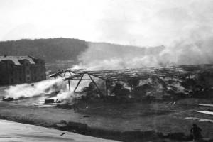 Bilde av Branner fra 2. verdenskrig