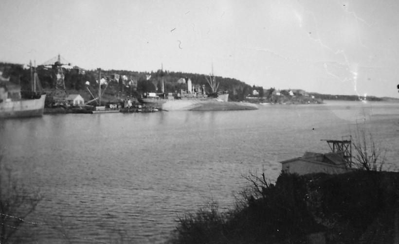 Bilde av Framnæs Mek. Verksted  -  Bombing