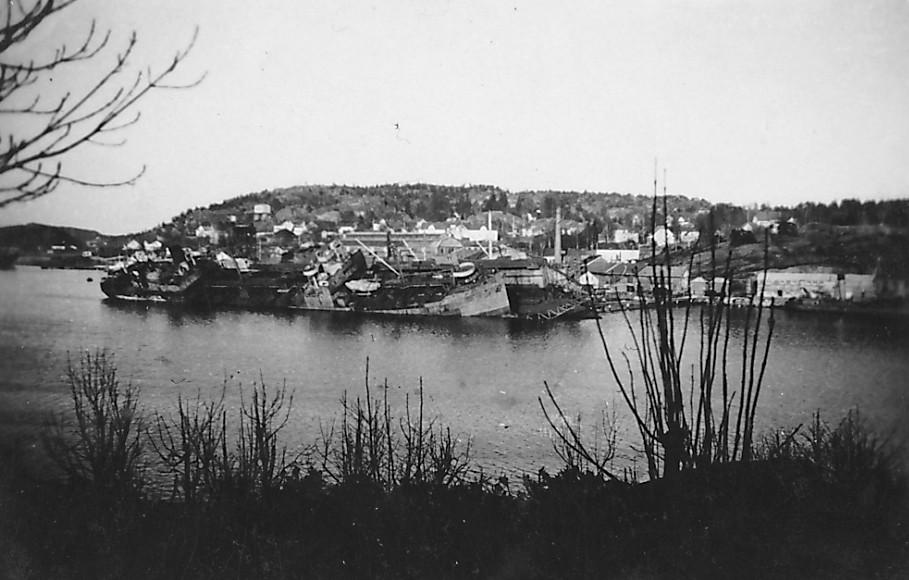 Bilde av Framnæs Mek verksted - Bombing