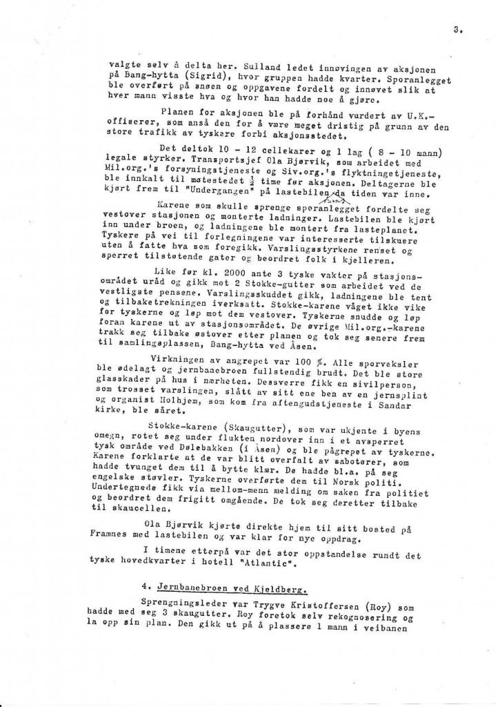 Bilde av Rapport fra Oddvar Midttun - side 3