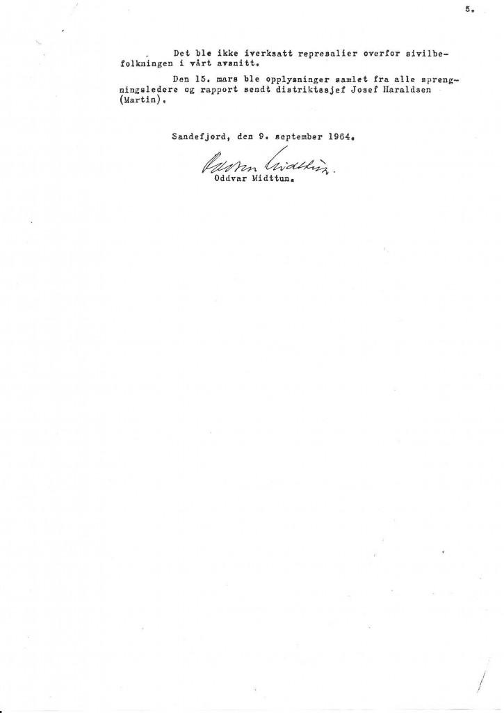 Bilde av Rapport fra Oddvar Midttun - side 5