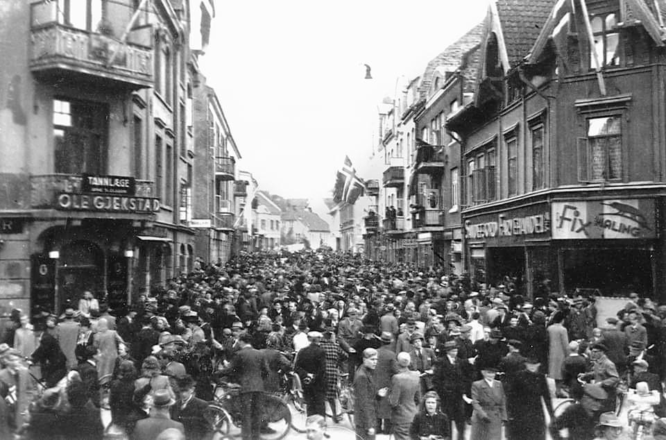 Bilde av Fredsdagene i mai 1945