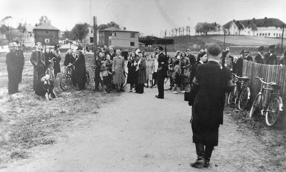 Bilde av Internering av nazister på Speiderhuset