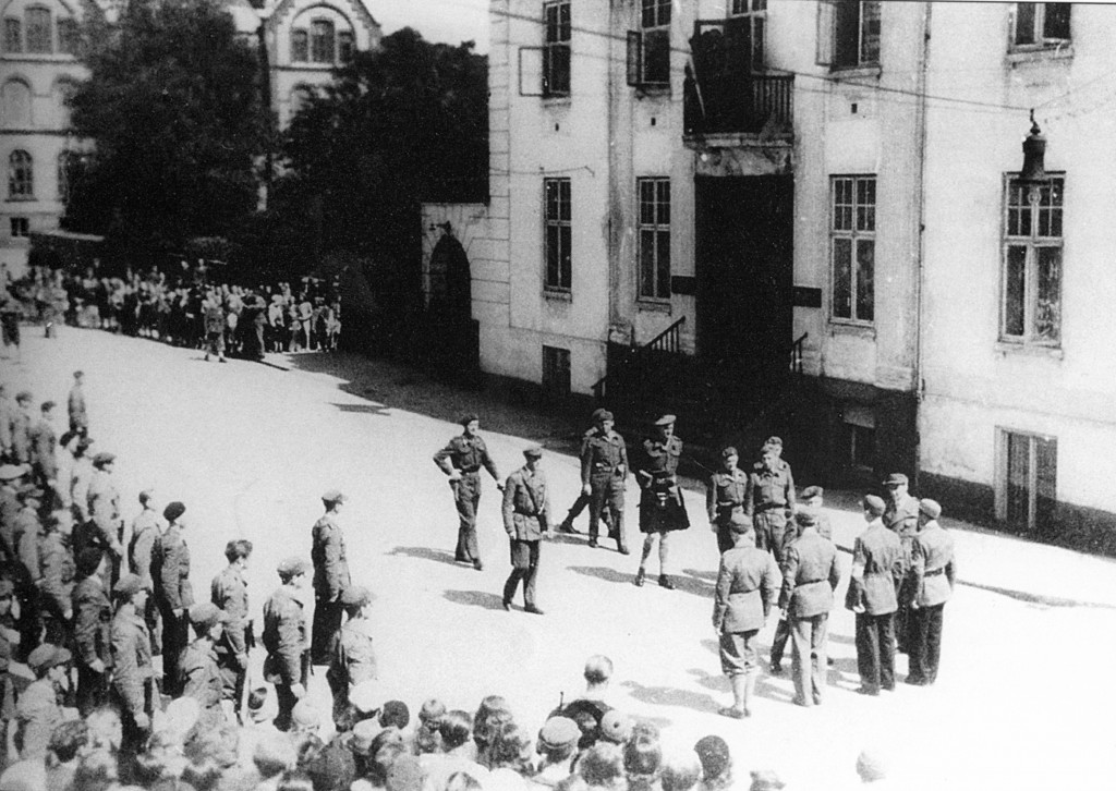 Bilde av Alliertes øverskommanderende i Norge