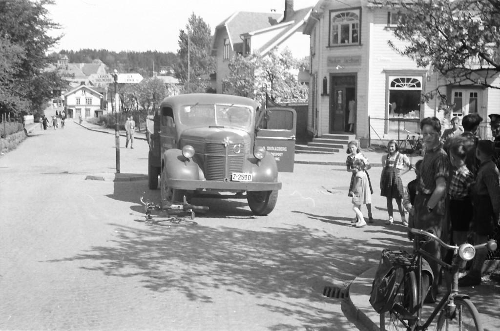 Bilde av 1945 - Hystadveien/Pukkestadveien