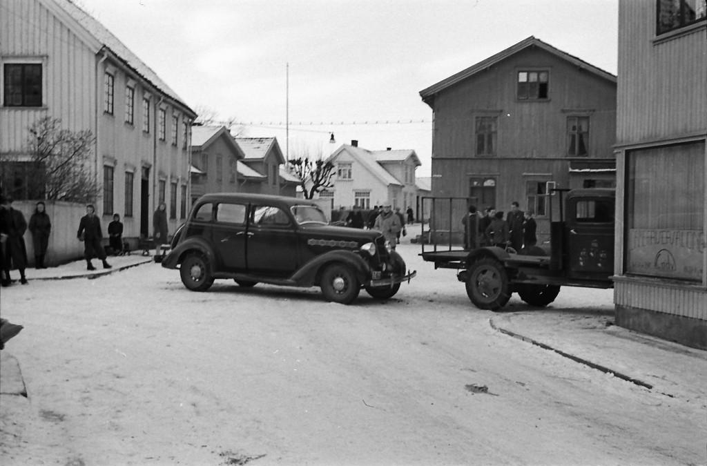 Bilde av 1945 - Prinsens gate / Høsts gate