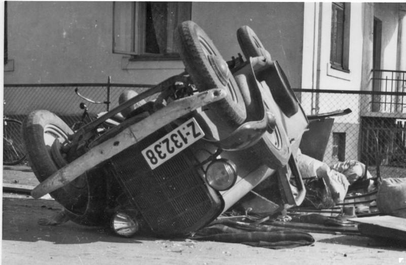 Bilde av 1946 ?? - Krysset Landstad gate/Dronningens gate