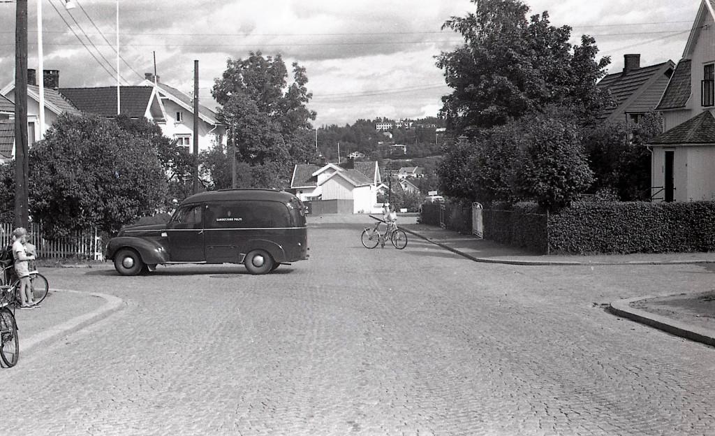 Bilde av 1955 - Pukkestadveien/Leikvollgata