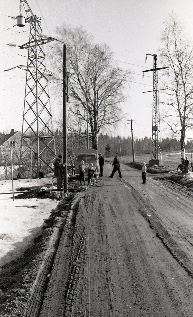 Bilde av 1960 - Hjertåsveien/Klinestadveien.