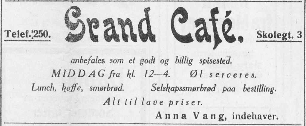 Bilde av Grand kafe, Kirkegaten 3