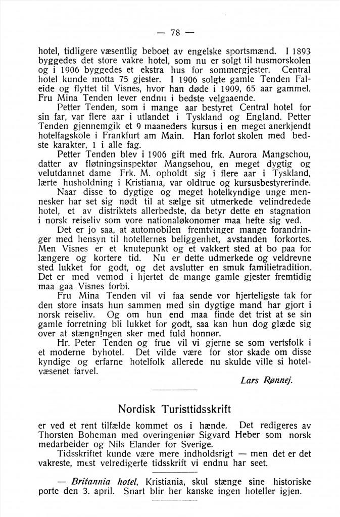 Bilde av Norsk Reiseliv 1917 / 2