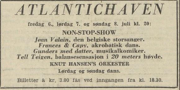 Bilde av Annonse - 1951