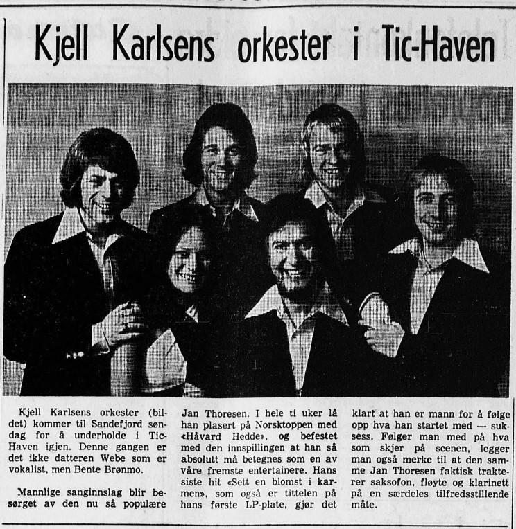 Bilde av Avisartikkel - 1974