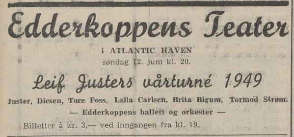 Bilde av Annonse - 1949