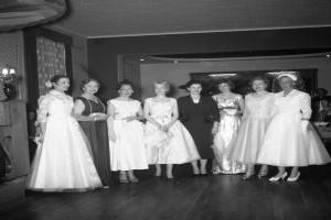 Bilde av Schelbred Mannekeng oppvisning våren 1958