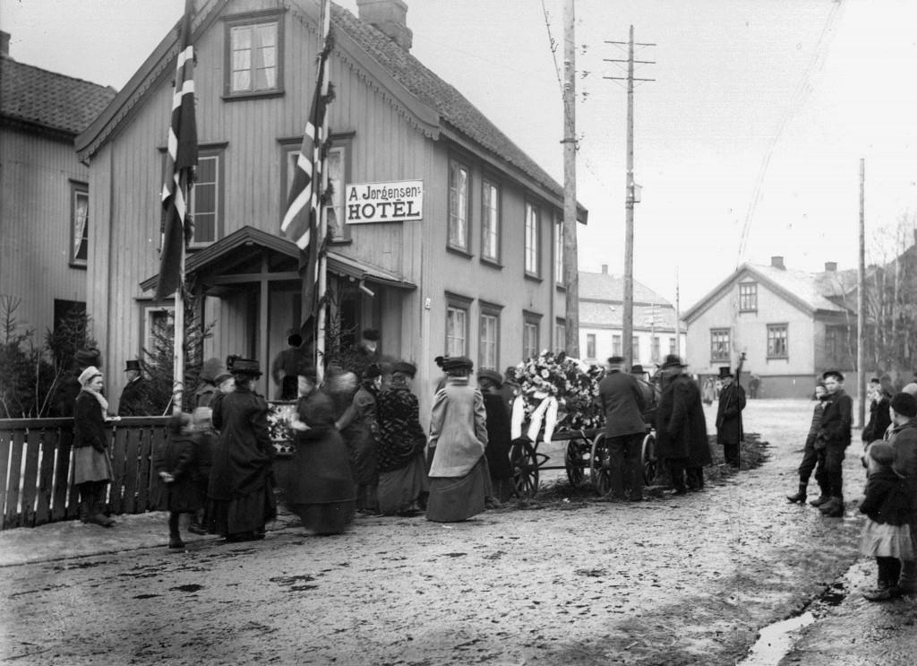 Bilde av Begravelse fra Jørgensens Hotel