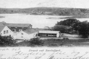 Bilde av Sommerpensjonat Søndre Strand 1880-tallet til 1940