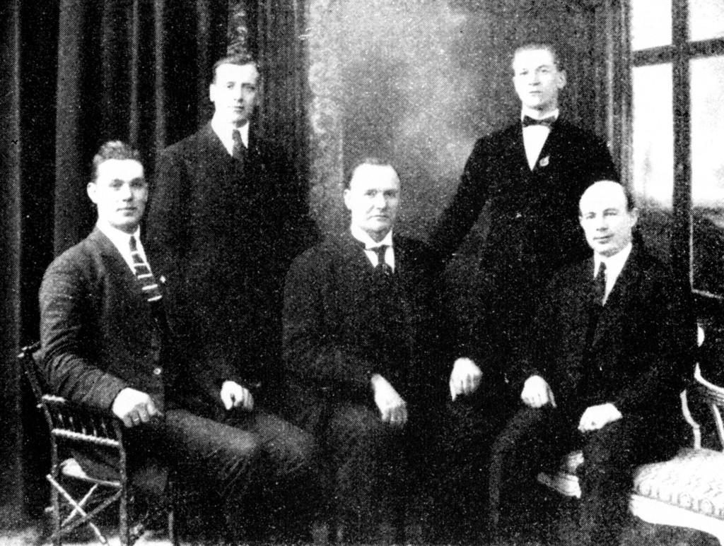 Bilde av Styret i 1923